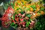 Flowers bouquet in the flower shop, фото № 23824913, снято 17 апреля 2016 г. (c) Wavebreak Media / Фотобанк Лори