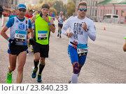 Московский Марафон 2016. Редакционное фото, фотограф Tanya  Polevaya / Фотобанк Лори
