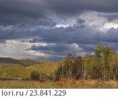 Купить «Осенний пейзаж», фото № 23841229, снято 4 октября 2012 г. (c) Олег Рубик / Фотобанк Лори