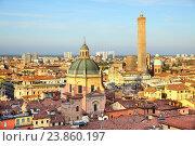 Купить «Vew of Bologna», фото № 23860197, снято 12 октября 2016 г. (c) Роман Сигаев / Фотобанк Лори