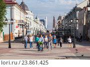 Купить «Город Казань. Улица Баумана.», фото № 23861425, снято 11 ноября 2019 г. (c) Igor Lijashkov / Фотобанк Лори
