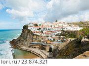 Купить «Вид на город Azenhas do Mar. Португалия», фото № 23874321, снято 15 октября 2016 г. (c) Екатерина Овсянникова / Фотобанк Лори