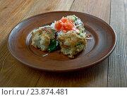 polish bread dumplings. Стоковое фото, фотограф Александр Fanfo / Фотобанк Лори