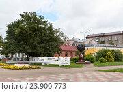 Купить «Парк пионеров. Смоленск», эксклюзивное фото № 23900773, снято 15 августа 2016 г. (c) Александр Щепин / Фотобанк Лори