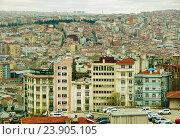 Вид на город Стамбул (2015 год). Стоковое фото, фотограф Елена Антипина / Фотобанк Лори