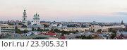 Купить «Астрахань. Панорамный вид на Кремль с крыши», эксклюзивное фото № 23905321, снято 25 сентября 2016 г. (c) Литвяк Игорь / Фотобанк Лори