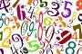 Цифры разных шрифтов на белом фоне, иллюстрация № 23906489 (c) Valery Sergeev / Фотобанк Лори