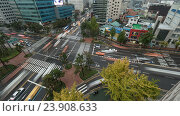 Купить «Transport traffic on junction in Seoul, South Korea», фото № 23908633, снято 24 октября 2015 г. (c) Данил Руденко / Фотобанк Лори