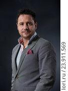 Купить «EDINBURGH, SCOTLAND, Monday 22nd, AUGUST 2016: Sony Award-winning and double BAFTA-winning British writer, comedian and broadcaster Jon Holmes appears...», фото № 23911569, снято 22 августа 2016 г. (c) age Fotostock / Фотобанк Лори