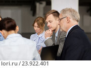 Купить «business people meeting in office», фото № 23922401, снято 3 июля 2016 г. (c) Syda Productions / Фотобанк Лори