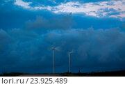 Купить «Ветряные станции на острове Беринга», фото № 23925489, снято 6 сентября 2016 г. (c) Дмитрий УТКИН / Фотобанк Лори