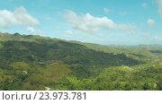 Купить «Филиппинские джунгли и леса. Вид с воздуха», видеоролик № 23973781, снято 1 августа 2016 г. (c) Mikhail Davidovich / Фотобанк Лори