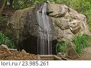 Водопадик (2016 год). Стоковое фото, фотограф Елена / Фотобанк Лори