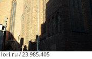 Купить «Parish of Assumption of Blessed Virgin Mary, Torun», видеоролик № 23985405, снято 5 ноября 2015 г. (c) BestPhotoStudio / Фотобанк Лори