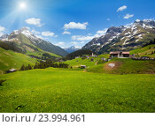 Alpine view (Vorarlberg,Austria) Стоковое фото, фотограф Юрий Брыкайло / Фотобанк Лори