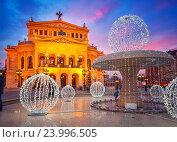 Alte Oper in Frankfurt. Стоковое фото, фотограф Sergey Borisov / Фотобанк Лори
