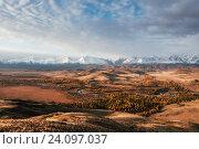 Купить «Алтайский пейзаж. Россия», фото № 24097037, снято 27 сентября 2016 г. (c) Liseykina / Фотобанк Лори