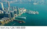 Гонконг, timelapse (2016 год). Стоковое видео, видеограф Михаил Коханчиков / Фотобанк Лори