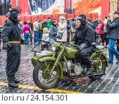 Купить «Выставка военной техники на Красной площади в Москве», фото № 24154301, снято 7 ноября 2016 г. (c) Николай Сачков / Фотобанк Лори
