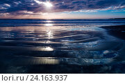Купить «Закат», фото № 24163937, снято 20 сентября 2016 г. (c) Дмитрий УТКИН / Фотобанк Лори