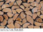 Березовые дрова. Стоковое фото, фотограф Ирина Мещерякова / Фотобанк Лори