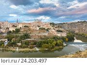 Купить «Панорама Толедо, Кастилия-Ла-Манча, Испания», фото № 24203497, снято 22 октября 2016 г. (c) Коваленкова Ольга / Фотобанк Лори