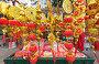 Tet (Vietnamese New Year) gold red decorations, фото № 24204545, снято 3 февраля 2016 г. (c) Александр Подшивалов / Фотобанк Лори