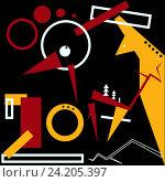 Купить «Год огненного петуха», иллюстрация № 24205397 (c) Duzhnikova Iuliia / Фотобанк Лори