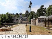 Купить «Цетиньский монастырь, Цетинье, Черногория», эксклюзивное фото № 24216125, снято 24 июля 2015 г. (c) Алексей Гусев / Фотобанк Лори