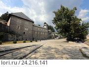 Купить «Цетиньский монастырь, Черногория», эксклюзивное фото № 24216141, снято 24 июля 2015 г. (c) Алексей Гусев / Фотобанк Лори