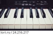 Клавиатура цифрового пианино. Стоковое фото, фотограф Standard Primitive / Фотобанк Лори