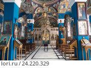 Иерихон, монастырь святого пророка Елисея, Палестина (2016 год). Стоковое фото, фотограф Наталья Волкова / Фотобанк Лори