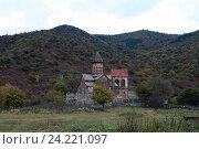 Монастырь, затерянный в горах. Питарети.Грузия. (2016 год). Стоковое фото, фотограф Алексей Воронцов / Фотобанк Лори