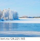 Купить «Зимний пейзаж», фото № 24221165, снято 21 октября 2016 г. (c) Икан Леонид / Фотобанк Лори