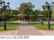 Прогулки в парке. Стоковое фото, фотограф Дмитрий Голуб / Фотобанк Лори