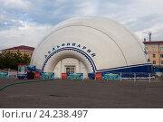 Чечня. Грозный. Дельфинарий (2016 год). Редакционное фото, фотограф Литвяк Игорь / Фотобанк Лори