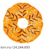 Купить «Сладкая фруктовая пастила круглой формы на белом фоне», фото № 24244693, снято 18 ноября 2016 г. (c) V.Ivantsov / Фотобанк Лори