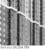 Фасад современного здания. Стоковое фото, фотограф Илья Малов / Фотобанк Лори