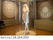 Купить «Экспозиция музея кружева. Вологда», эксклюзивное фото № 24264093, снято 21 августа 2016 г. (c) Pukhov K / Фотобанк Лори