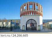 Кутафья башня Московского Кремля (2016 год). Стоковое фото, фотограф Елена Коромыслова / Фотобанк Лори