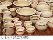Керамическая посуда. Стоковое фото, фотограф MARINA EVDOKIMOVA / Фотобанк Лори