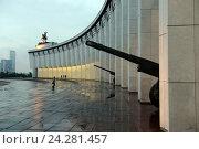 Центральный музей Великой Отечественной войны 1941-1945 гг на Поклонной горе (2014 год). Редакционное фото, фотограф Free Wind / Фотобанк Лори