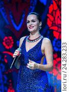 Купить «Певица Слава», эксклюзивное фото № 24283233, снято 26 декабря 2015 г. (c) Михаил Ворожцов / Фотобанк Лори