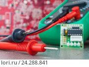 Setup, repair of electronic equipment. Develop or hobby-related electronics., фото № 24288841, снято 29 ноября 2016 г. (c) Александр Якимов / Фотобанк Лори