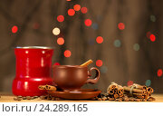 Праздничный кофе. Стоковое фото, фотограф Глыцко Андрей / Фотобанк Лори