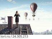 Купить «She is looking forward», фото № 24305213, снято 24 февраля 2011 г. (c) Sergey Nivens / Фотобанк Лори