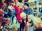 Parents with kids at X-mas market, фото № 24307981, снято 3 декабря 2016 г. (c) Яков Филимонов / Фотобанк Лори