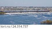 Купить «Тольятти. Жигулевская ГЭС», фото № 24314737, снято 8 мая 2012 г. (c) Акиньшин Владимир / Фотобанк Лори