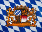 Coats arms, federal state, Bavaria, Europe, Germany, the FRG, flag, flag, detail, product photography, free state, фото № 24326361, снято 1 марта 1994 г. (c) mauritius images / Фотобанк Лори
