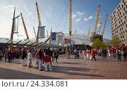 Купить «Arena, stadium, structure, urban development», фото № 24334081, снято 3 мая 2014 г. (c) mauritius images / Фотобанк Лори